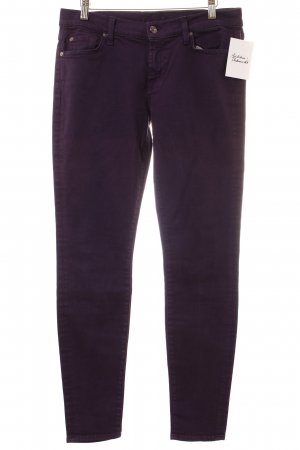 "7 For All Mankind Skinny Jeans ""the skinny"" dunkelviolett"