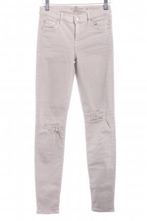 "7 For All Mankind Skinny Jeans ""The Skinny"" hellbeige"