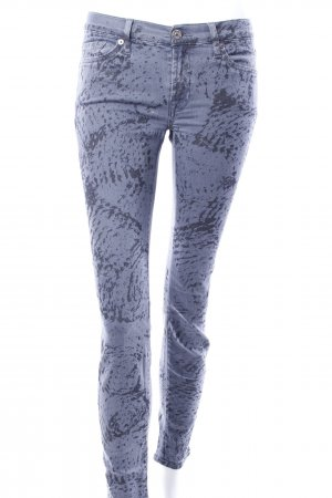 7 for all Mankind Skinny Jeans Used-Print