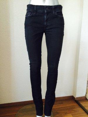 7 for All Mankind Skinny schwarz Jeans Gr. 27