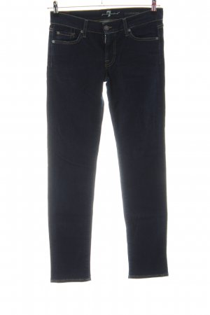 7 For All Mankind Slim Jeans schwarz Casual-Look