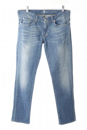 7 For All Mankind Slim Jeans blau