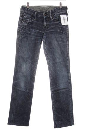 7 For All Mankind Slim Jeans blau Jeans-Optik