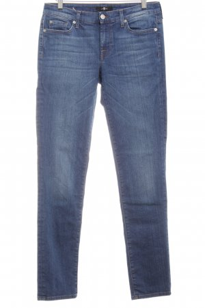 7 For All Mankind Slim Jeans blau schlichter Stil