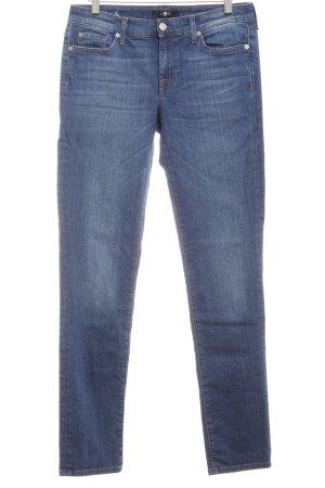 7 For All Mankind Jeans slim fit blu stile semplice