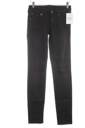 7 For All Mankind Slim Jeans brown violet casual look