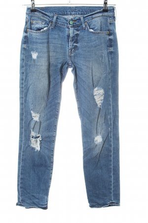 7 For All Mankind Slim Jeans blau Casual-Look