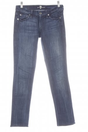 7 For All Mankind Slim Jeans dunkelblau