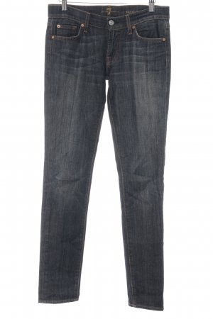 7 For All Mankind Vaquero slim azul oscuro-azul look casual