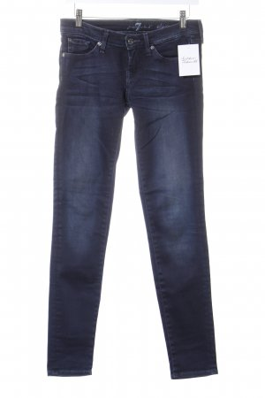 7 For All Mankind Slim Jeans dunkelblau Casual-Look