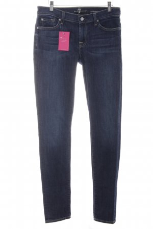 7 For All Mankind Slim Jeans dark blue casual look