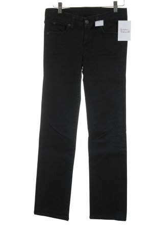 7 For All Mankind Slim Jeans dunkelblau Street-Fashion-Look
