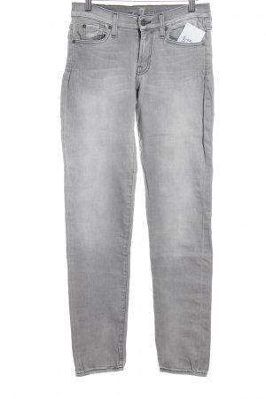 7 For All Mankind Slim Jeans grau Casual-Look