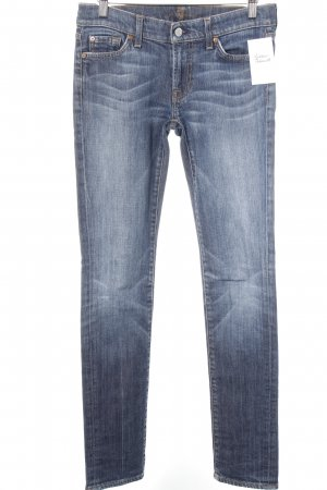 7 For All Mankind Slim Jeans graublau Casual-Look
