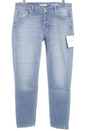 7 For All Mankind Slim Jeans graublau schlichter Stil