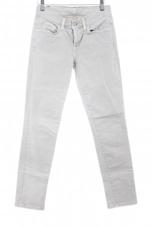 7 For All Mankind Slim Jeans oatmeal casual look