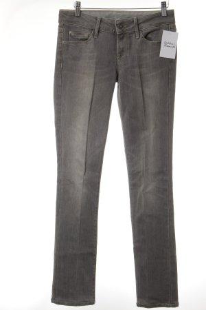 7 For All Mankind Jeans slim gris clair style décontracté