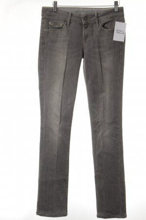 7 For All Mankind Slim Jeans hellgrau Casual-Look
