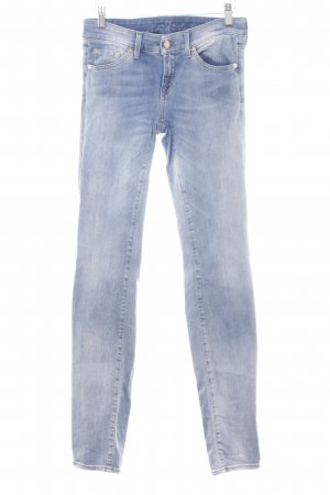 7 For All Mankind Slim jeans azuur casual uitstraling