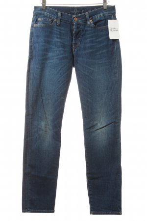 "7 For All Mankind Vaquero slim ""josefina"" azul oscuro"