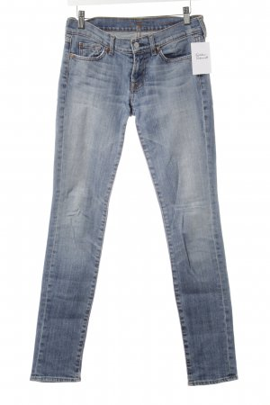 7 For All Mankind Slim Jeans cornflower blue casual look