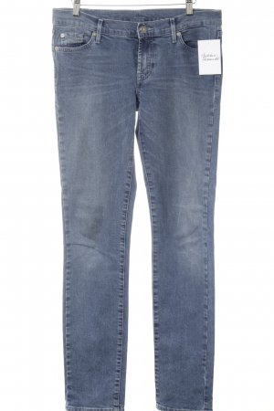 7 For All Mankind Jeans slim bleuet style simple