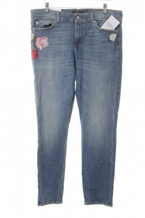 "7 For All Mankind Vaquero slim ""Mid Rise Roxanne Crop"""