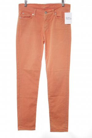 7 For All Mankind Vaquero slim naranja look casual