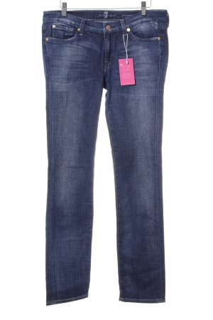 "7 For All Mankind Jeans slim fit ""Roxanne"" blu"