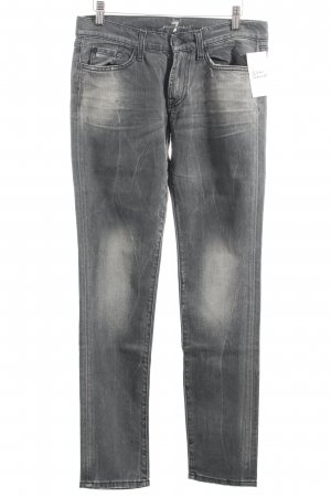 "7 For All Mankind Slim Jeans ""Roxanne"" dunkelgrau"