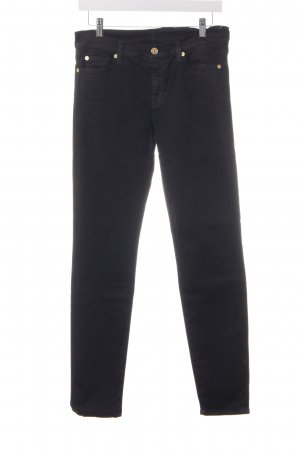 7 For All Mankind Slim Jeans black casual look