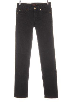 7 For All Mankind Jeans slim noir style décontracté