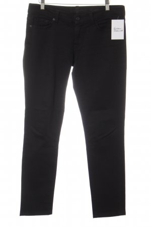 7 For All Mankind Slim Jeans black simple style