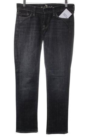 7 For All Mankind Slim Jeans schwarz Street-Fashion-Look