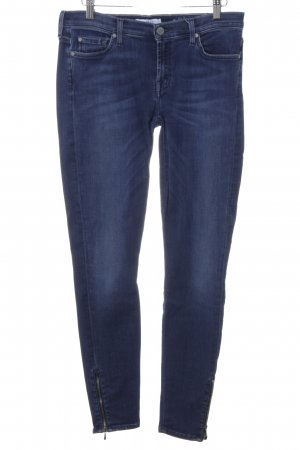 7 For All Mankind Jeans slim fit blu acciaio stile casual