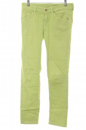7 For All Mankind Slim Jeans meadow green casual look