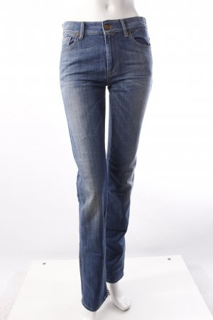 7 For All Mankind Slimjeans blau