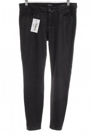 7 For All Mankind Pantalon en jersey noir style décontracté
