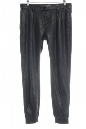 7 For All Mankind Pantalón tipo suéter negro look casual