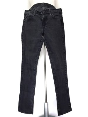 7 For All Mankind Straight Leg Jeans anthracite