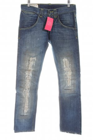 7 For All Mankind Straight-Leg Jeans blau Casual-Look