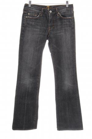 7 For All Mankind Straight-Leg Jeans anthrazit Casual-Look