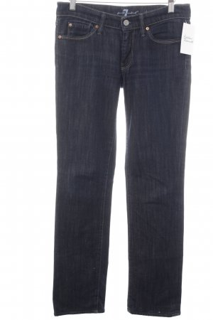 7 For All Mankind Vaquero rectos azul look casual