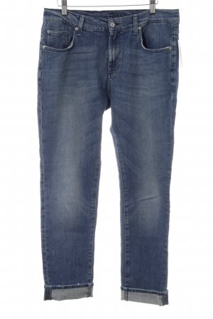 7 For All Mankind Straight Leg Jeans blue street-fashion look