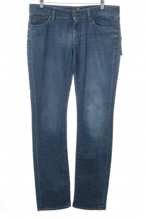 7 For All Mankind Vaquero rectos azul look Street-Style