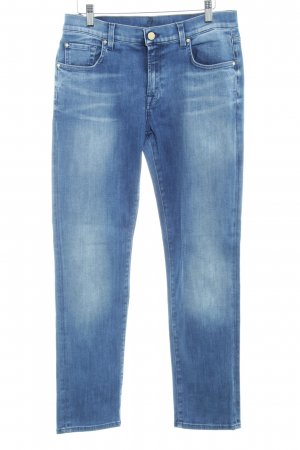 7 For All Mankind Vaquero rectos azul look de segunda mano