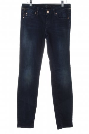 7 For All Mankind Jeans a gamba dritta blu scuro stile casual