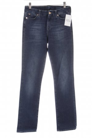 7 For All Mankind Straight-Leg Jeans dunkelblau Casual-Look