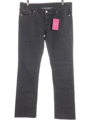 7 For All Mankind Jeans a gamba dritta marrone scuro stile casual