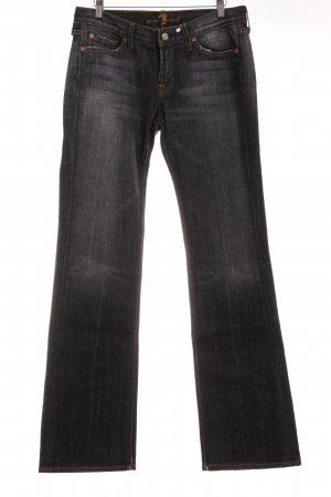7 For All Mankind Straight-Leg Jeans dunkelgrau Casual-Look